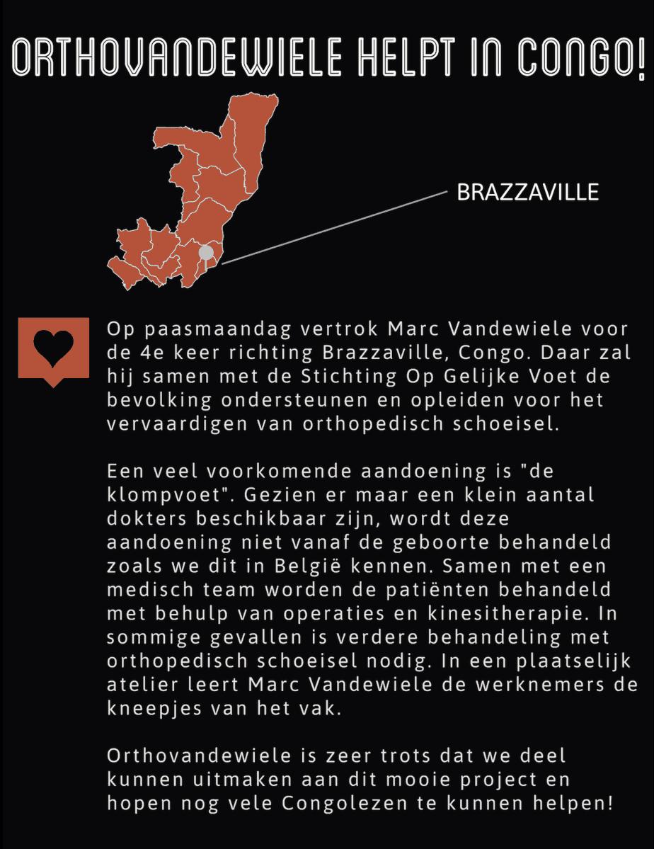 Marc Vandewiele vrijwilligerswerk in Congo